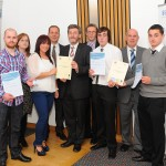 Member of Scottish Pariliament with Apprentices and SPADAC