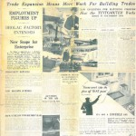 "In January 1935 the Brolac Herald reports on the latest news from the Brolac paint brand, including ""Brighter Trade Prospects for 1935″…"