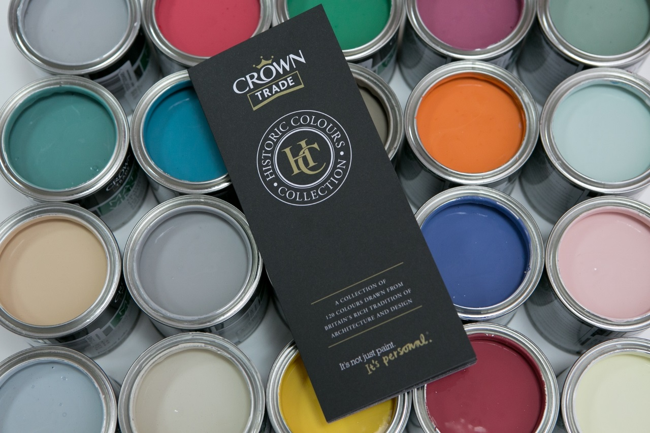 The crown trade historic colour collection authentic shades with modern appeal scottish - Crown exterior paint colour chart style ...